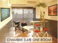 CHAMBRE 3,6号 ONE ROOM
